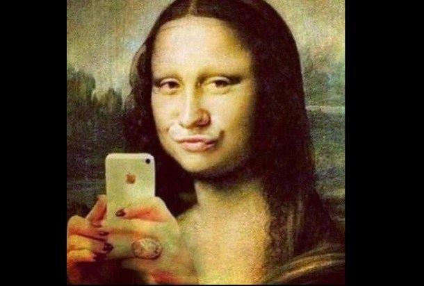 Narcyz w związku. Monalisa z selfie