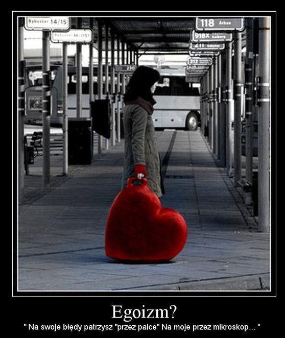 Zdrowy egoizm nie prowadzi do cierpienia. Niezdrowy karze nim bliskich.