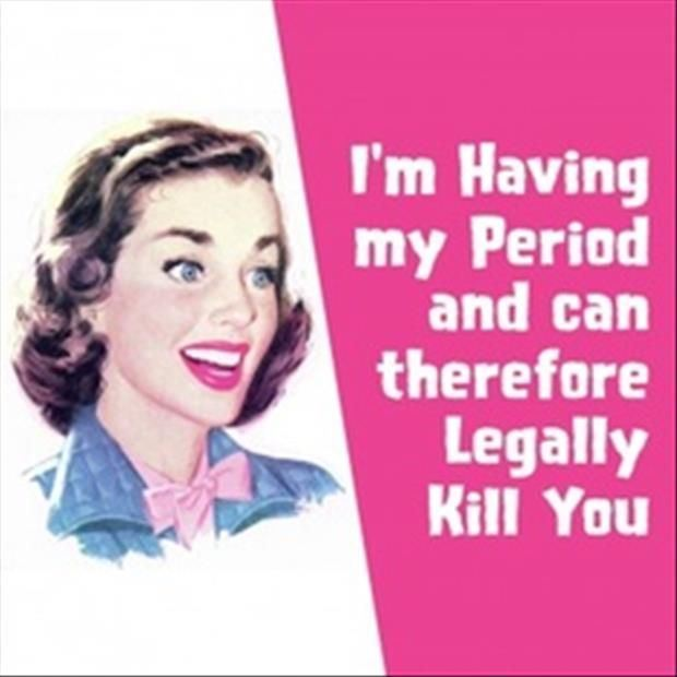Zasady budowania związków przez kobiety - może Cię zabić gdy ma okres ;-)