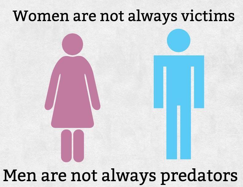 The Red Pill nie jest jak feminizm. Kobiety nie zawsze są ofiarami, a mężczyźni nie zawsze są drapieżnikami