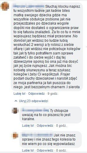 Białorycerz łatwowiernie broni kobiet i atakuje mężczyzn