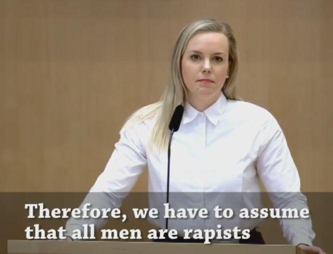 wszyscy mężczyźni to gwałciciele