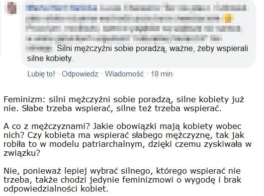 feminizm dla wygody kobiet