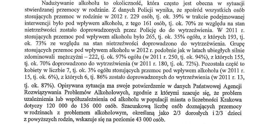 alkoholizm przyczyną przemocy