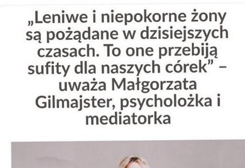 lewicowa psycholożka