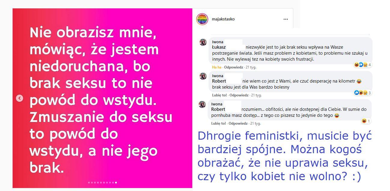 obrażanie seksualności kobiet